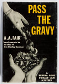 Books:Mystery & Detective Fiction, [Erle Stanley Gardner]. A. A. Fair. Pass the Gravy. Morrow,1959. First edition, first printing. Price-clipped. ...