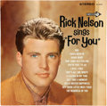 "Music Memorabilia:Autographs and Signed Items, Rick Nelson Sings ""For You"" Signed Album (Decca StereoDL74479, 1963). ..."