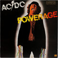 Music Memorabilia:Autographs and Signed Items, AC/DC Band-Signed Powerage Album (Atlantic SD19180, 1978)....