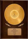 Music Memorabilia:Awards, The Guess Who Share the Land RCA In-House Gold AlbumAward....