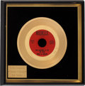 "Music Memorabilia:Awards, Dale & Grace ""I'm Leaving It Up to You"" In-House Gold SingleAward..."