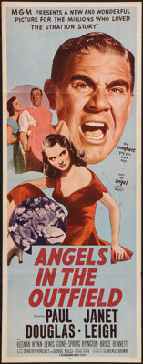"Angels in the Outfield (MGM, 1951). Insert (14"" X 36""). Drama"