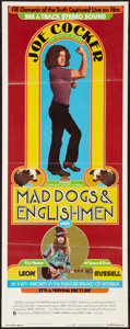 "Movie Posters:Rock and Roll, Mad Dogs & Englishmen (MGM, 1971). Insert (14"" X 36""). Rock andRoll.. ..."