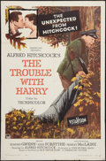 "Movie Posters:Hitchcock, The Trouble with Harry (Paramount, 1955). One Sheet (27"" X 41"").Hitchcock.. ..."