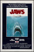 "Movie Posters:Horror, Jaws (Universal, 1975). One Sheet (27"" X 41"") Flat Folded. Horror.. ..."