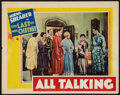 """Movie Posters:Crime, The Last of Mrs. Cheyney (MGM, 1929). Lobby Card (11"""" X 14""""). Crime.. ..."""