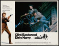 "Movie Posters:Crime, Dirty Harry (Warner Brothers, 1971). Lobby Card (11"" X 14"").Crime.. ..."