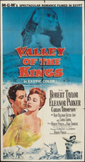 """Movie Posters:Adventure, Valley of the Kings & Other Lot (MGM, 1954). Three Sheets (2)(41"""" X 79"""" & 40"""" X 78""""). Adventure.. ... (Total: 2 Items)"""