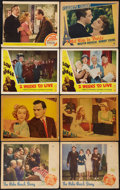 "Movie Posters:Comedy, The Palm Beach Story & Others Lot (Paramount, 1942). LobbyCards (14) (11"" X 13.5"" & 11"" X 14""). Comedy.. ... (Total: 14Items)"