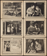 "Silent Years (RC, 1921). Title Lobby Card & Lobby Cards (5) (11"" X 14""). Drama. ... (Total: 6 Items)"