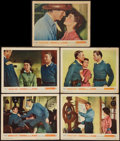 """Movie Posters:Western, Thunder Over the Plains & Others Lot (Warner Brothers, 1953).Lobby Cards (10) (11"""" X 14""""). Western.. ... (Total: 10 Items)"""