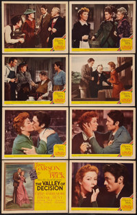 "The Valley of Decision (MGM, 1945). Lobby Card Set of 8 (11"" X 14""). Drama. ... (Total: 8 Items)"