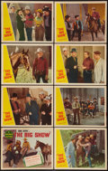 "Movie Posters:Western, The Big Show (Republic, R-1940s). Lobby Card Set of 8 (11"" X 14""). Western.. ... (Total: 8 Items)"