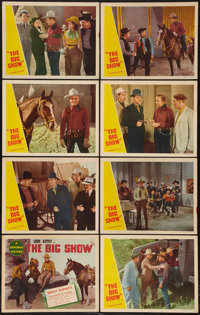 "The Big Show (Republic, R-1940s). Lobby Card Set of 8 (11"" X 14""). Western. ... (Total: 8 Items)"