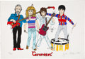Music Memorabilia:Posters, The Who Related - John Entwistle Generations Limited Edition Print#89/350 (1997)....