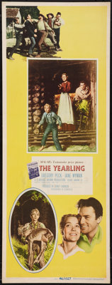 "The Yearling (MGM, 1946). Insert (14"" X 36""). Drama"