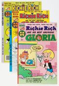 Bronze Age (1970-1979):Cartoon Character, Richie Rich and Gloria #1-25 File Copy Group (Harvey, 1977-82)Condition: Average NM-.... (Total: 75 Comic Books)