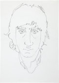 Music Memorabilia:Original Art, John Entwistle Pete Townshend Sketch Original Art(undated)....