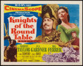 "Movie Posters:Adventure, Knights of the Round Table (MGM, 1953). Half Sheet (22"" X 28"")Style A. Adventure.. ..."
