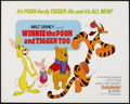 "Movie Posters:Animation, Winnie the Pooh and Tigger Too! (Buena Vista, 1974). Half Sheet(22"" X 28""). Animation.. ..."