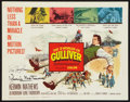 "Movie Posters:Fantasy, The 3 Worlds of Gulliver (Columbia, 1960). Autographed Title Lobby Card (11"" X 14""). Fantasy.. ..."