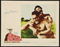 "Movie Posters:Action, Hercules Unchained (Warner Brothers, 1960). Autographed Lobby Card(11"" X 14""). Action.. ..."