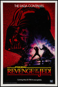 "Movie Posters:Science Fiction, Revenge of the Jedi (20th Century Fox, 1982). One Sheet (27"" X41""). Science Fiction.. ..."