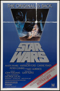 "Movie Posters:Science Fiction, Star Wars (20th Century Fox, R-1982). One Sheet (27"" X 41"") ""Revenge"" Banner Style. Science Fiction.. ..."