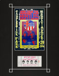 Music Memorabilia:Tickets, Beatles Candlestick Park 1966 Concert Ticket....