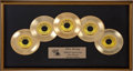 Music Memorabilia:Memorabilia, Elvis Presley Sun Records 50th Anniversary Display....