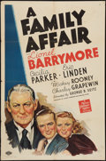 """Movie Posters:Comedy, A Family Affair (MGM, 1937). One Sheet (27"""" X 41""""). Comedy.. ..."""