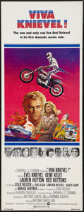 """Movie Posters:Action, Viva Knievel! (Warner Brothers, 1977). Insert (14"""" X 36""""). Action....."""