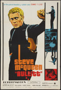 """Movie Posters:Crime, Bullitt (Warner Brothers, 1969). Argentinean Poster (29"""" X 43"""").Crime.. ..."""