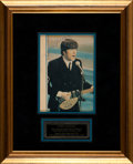 Music Memorabilia:Autographs and Signed Items, Beatles - John Lennon Autographed Photo....