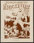"""Movie Posters:Action, The Rocketeer (Pacific Comics, 1982). Dave Stevens Autographed Art Print (8.5"""" X 11""""). Action.. ..."""