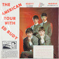 Music Memorabilia:Recordings, Beatles The American Tour With Ed Rudy Sealed LP (RPN 2,1964)....