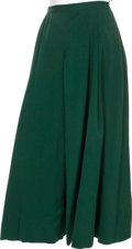 "Movie/TV Memorabilia:Costumes, A Maureen O'Hara Period Skirt from ""The Rare Breed.""..."