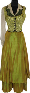Movie/TV Memorabilia:Costumes, A Maureen O'Hara Period Costume from An Unknown Film....