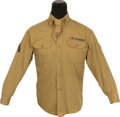 "Movie/TV Memorabilia:Costumes, A Richard Pryor Military Shirt from ""Greased Lightning.""..."