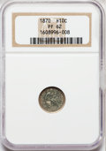 Proof Seated Half Dimes: , 1870 H10C PR62 NGC. NGC Census: (14/130). PCGS Population (33/133).Mintage: 1,000. Numismedia Wsl. Price for problem free ...