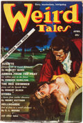 Pulps:Horror, Weird Tales - April 1939 plus Signed Letter from Farnsworth Wright(Popular Fiction, 1939) Condition: FN-.... (Total: 2 Items)