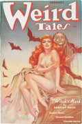 Pulps:Horror, Weird Tales January 1938 (Popular Fiction, 1938) Condition: FN+....