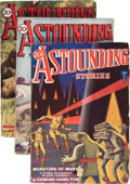 Pulps:Science Fiction, Astounding Stories - April-June 1931 Group (Street & Smith,1931) Condition: Average VG.... (Total: 3 Items)