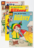 Silver Age (1956-1969):Humor, Playful Little Audrey File Copy Group (Harvey, 1959-67) Condition: Average VF/NM.... (Total: 58 Comic Books)
