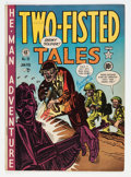 Golden Age (1938-1955):War, Two-Fisted Tales #19 (EC, 1951) Condition: VG/FN....