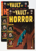 Golden Age (1938-1955):Horror, Vault of Horror #37 and 38 Group (EC, 1954).... (Total: 2 ComicBooks)