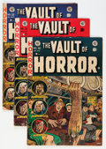 Golden Age (1938-1955):Horror, Vault of Horror #30-32 Group (EC, 1953) Condition: Average FN-....(Total: 3 Comic Books)