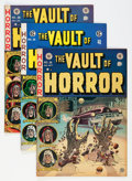 Golden Age (1938-1955):Horror, Vault of Horror #26 and 28 Group (EC, 1952-53) Condition: FN....(Total: 3 Comic Books)