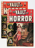 Golden Age (1938-1955):Horror, Vault of Horror #23 and 25 Group (EC, 1952) Condition: AverageFN-.... (Total: 2 Comic Books)