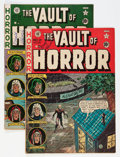 Golden Age (1938-1955):Horror, Vault of Horror #21 and 22 Group (EC, 1951-52) Condition: AverageVG/FN.... (Total: 2 Comic Books)